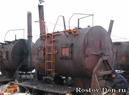 Печь для изготовления угля своими руками