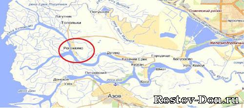 Ростов-на-Дону - список рыболовных мест