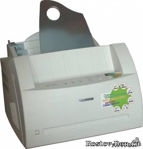 Лазерный принтер samsung ml-1210 б/у в отличном рабочем состоянии!