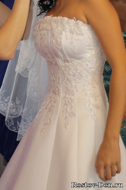 Фото карсетов на свадебных платьях