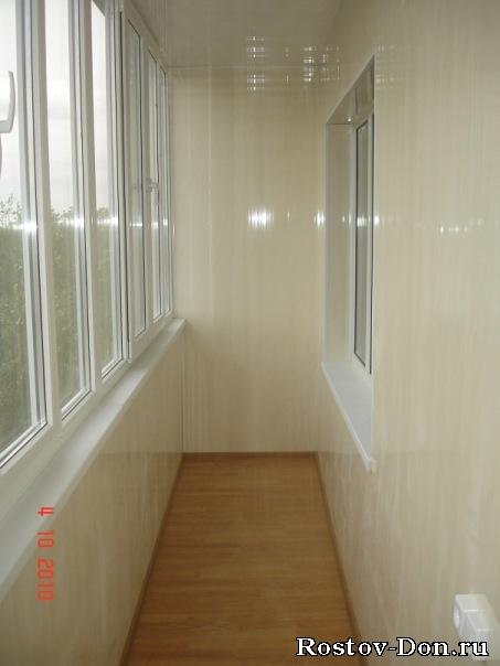 Внутренняя отделка балконов в ростове-на-дону: фото.