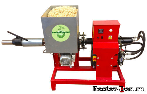 Станок для изготовления топливных брикетов